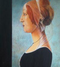 Botticellijeune femme1485