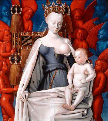 Fouquet dyptique de Melun