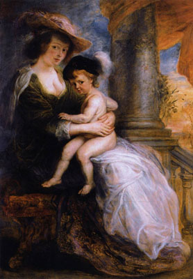 Rubens Hélène Fourment et son fils